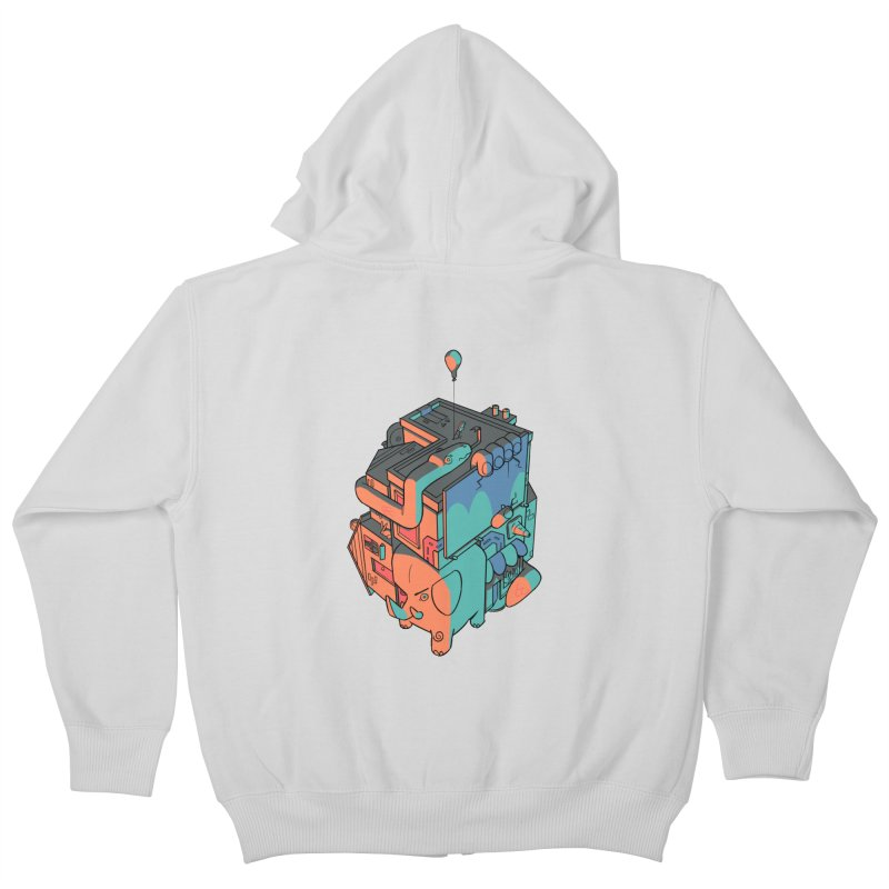 The Object Kids Zip-Up Hoody by Kyle Smeallie's Design Store