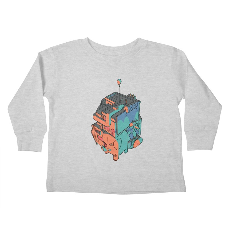 The Object Kids Toddler Longsleeve T-Shirt by Kyle Smeallie's Design Store