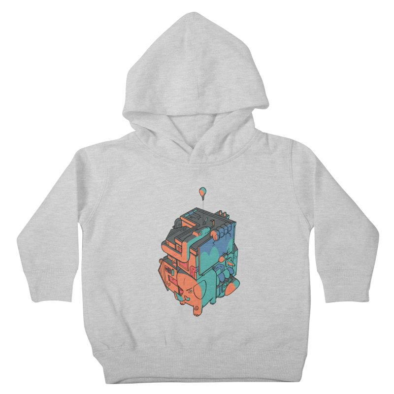 The Object Kids Toddler Pullover Hoody by Kyle Smeallie's Design Store
