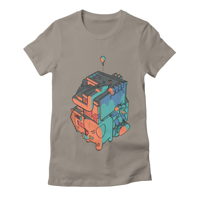 The Object Women's Fitted T-Shirt by Kyle Smeallie's Design Store