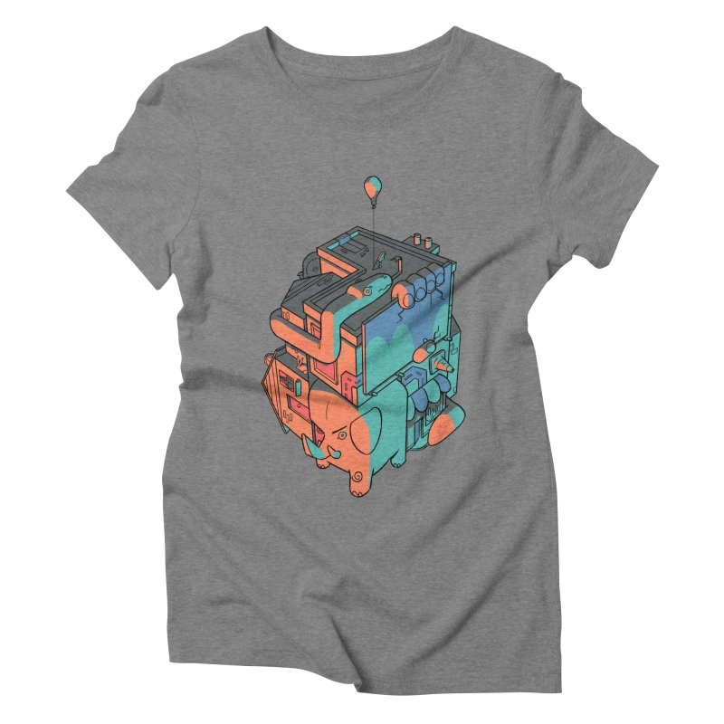 The Object Women's Triblend T-Shirt by Kyle Smeallie's Design Store