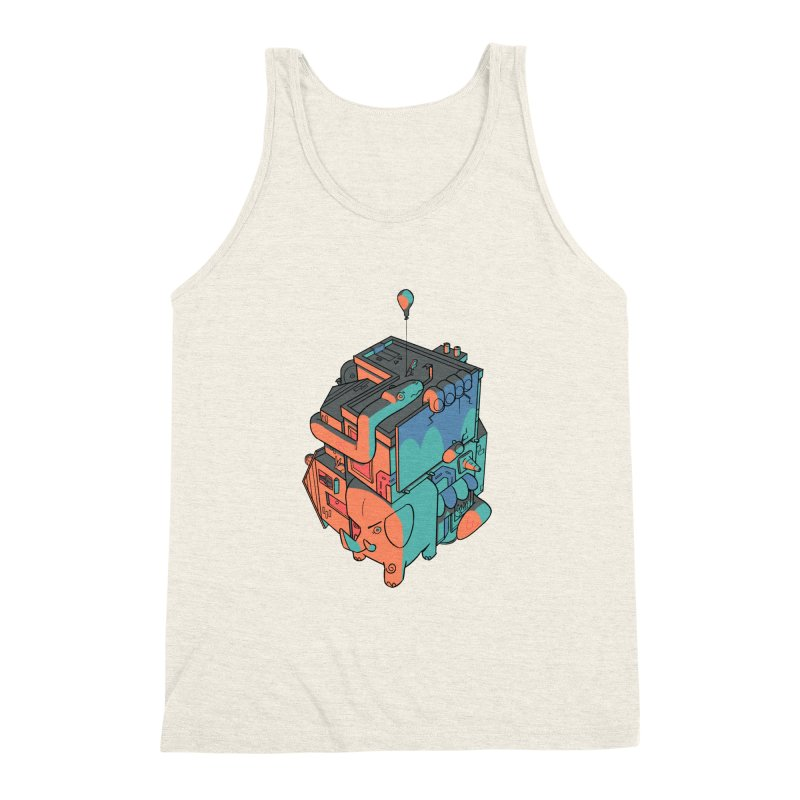 The Object Men's Triblend Tank by Kyle Smeallie's Design Store