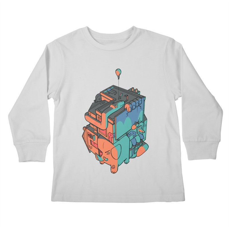 The Object Kids Longsleeve T-Shirt by Kyle Smeallie's Design Store