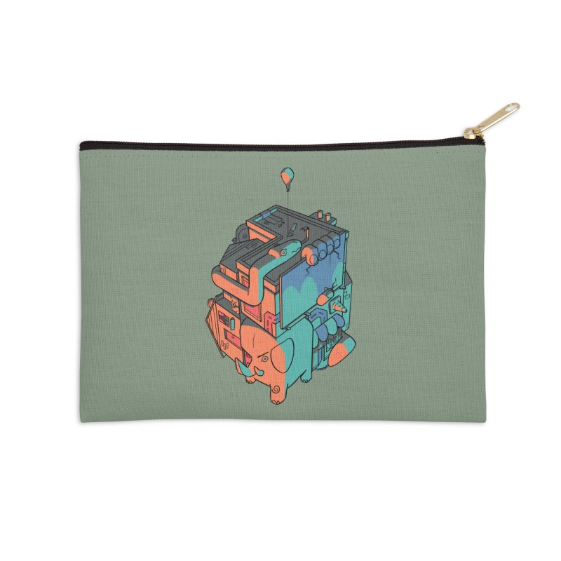 The Object Accessories Zip Pouch by Kyle Smeallie's Design Store