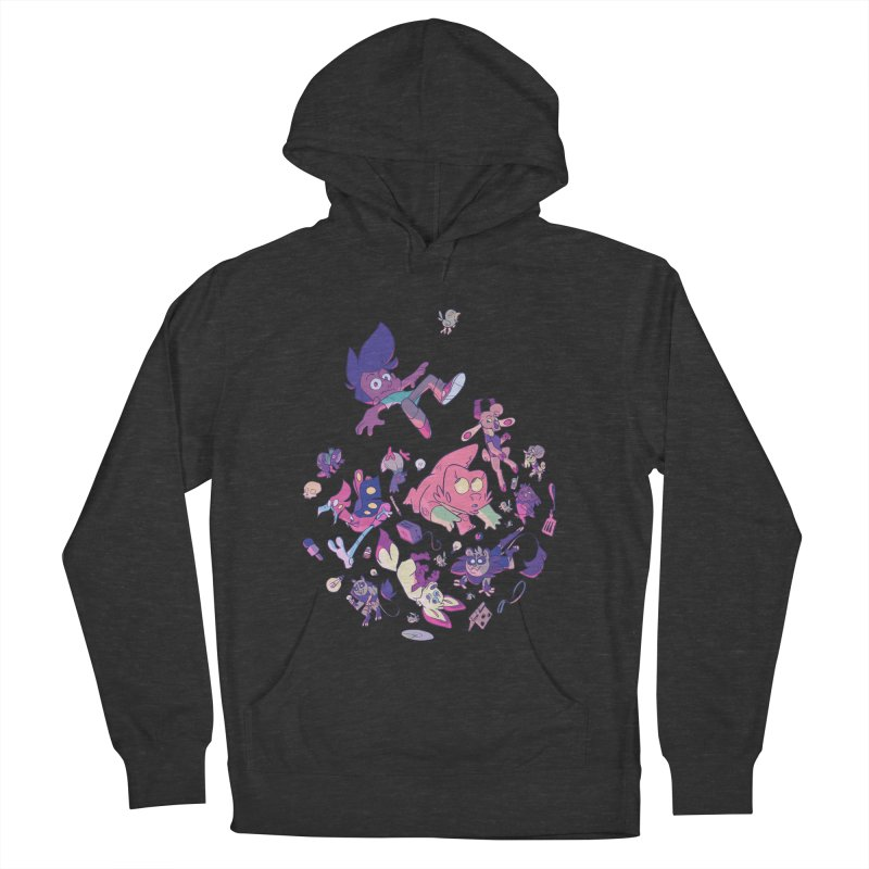 Big Bang Women's French Terry Pullover Hoody by Kyle Smeallie's Design Store