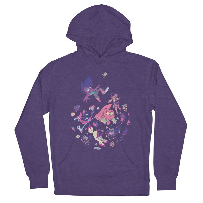 Big Bang Men's French Terry Pullover Hoody by Kyle Smeallie's Design Store