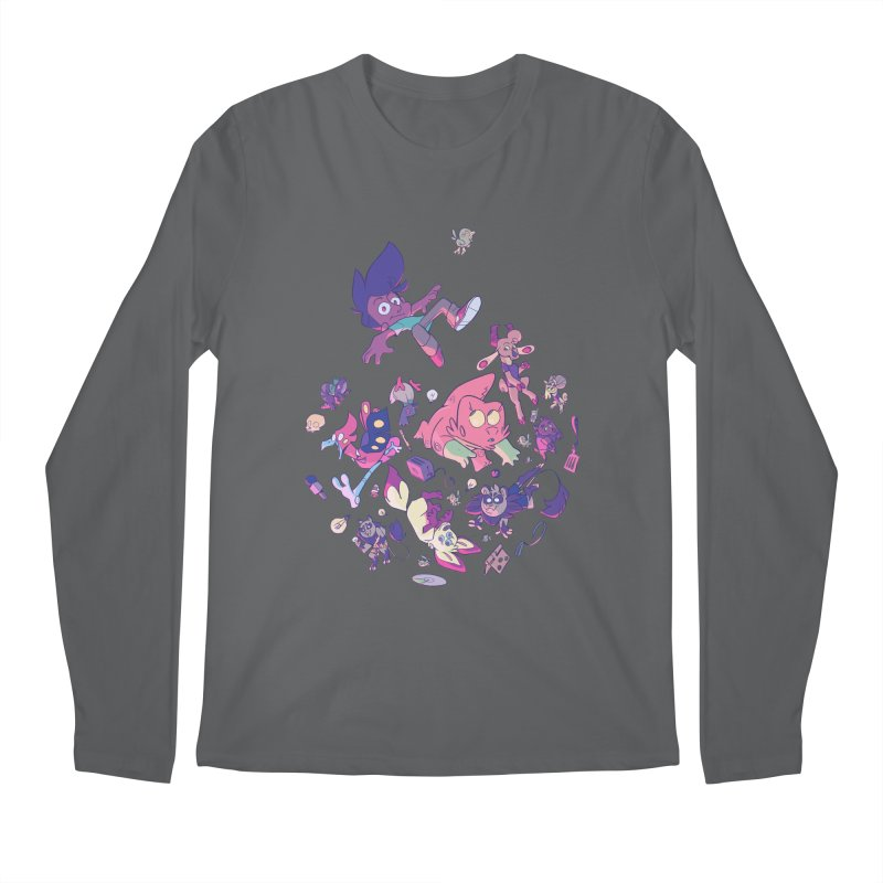 Big Bang Men's Regular Longsleeve T-Shirt by Kyle Smeallie's Design Store