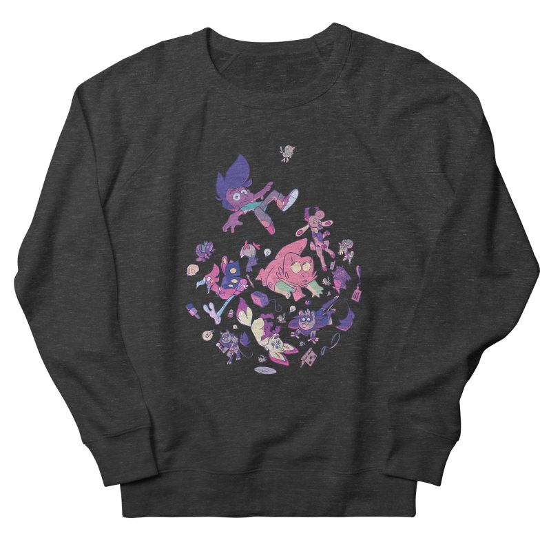 Big Bang Men's French Terry Sweatshirt by Kyle Smeallie's Design Store