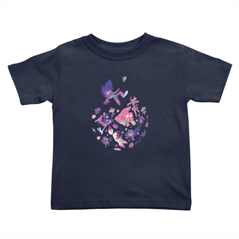 Big Bang Kids Toddler T-Shirt by Kyle Smeallie's Design Store