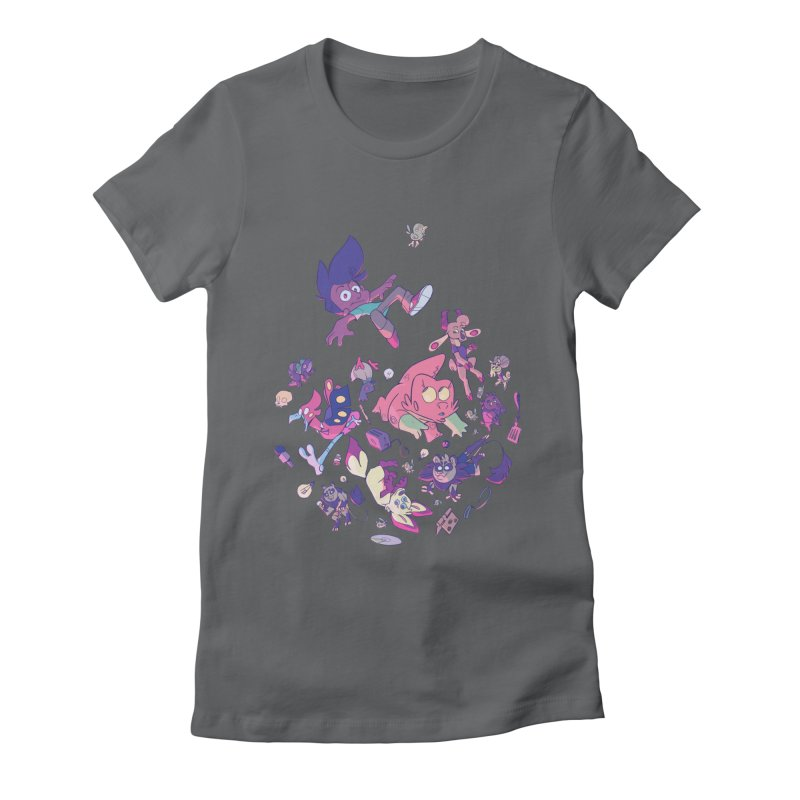 Big Bang Women's Fitted T-Shirt by Kyle Smeallie's Design Store