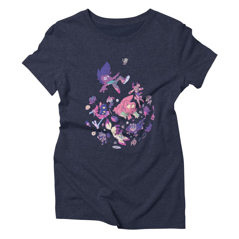 Big Bang Women's Triblend T-Shirt by Kyle Smeallie's Design Store