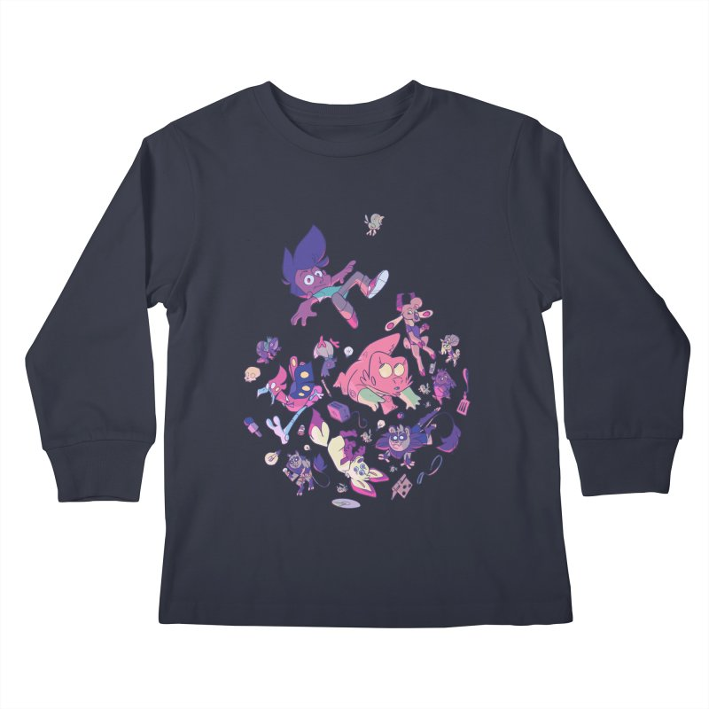 Big Bang Kids Longsleeve T-Shirt by Kyle Smeallie's Design Store