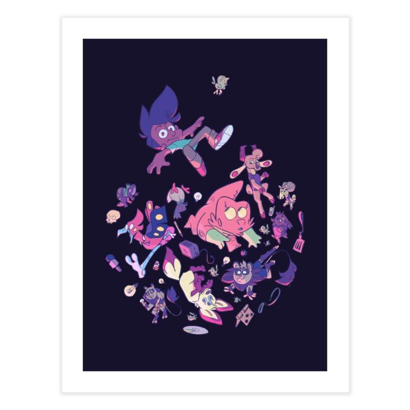 Big Bang Home Fine Art Print by Kyle Smeallie's Design Store