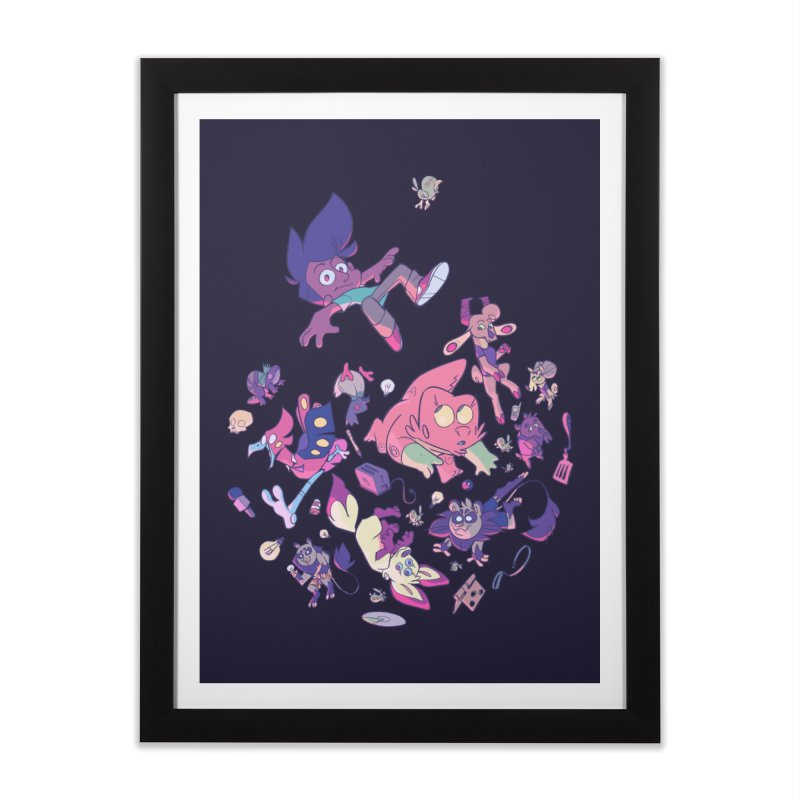 Big Bang Home Framed Fine Art Print by Kyle Smeallie's Design Store