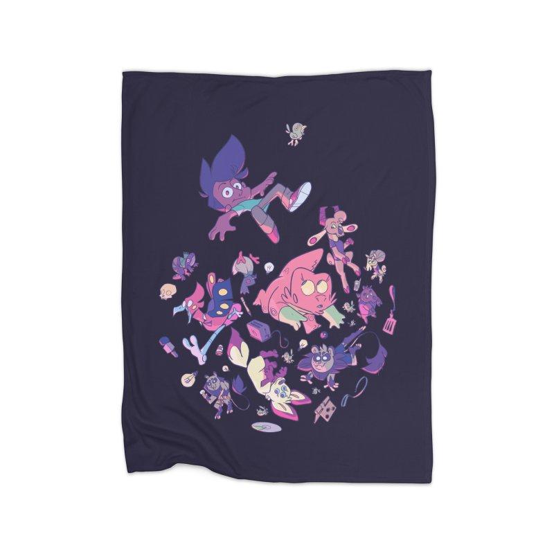 Big Bang Home Blanket by Kyle Smeallie's Design Store