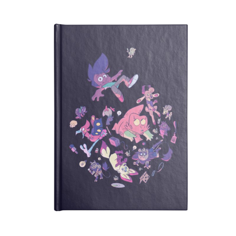 Big Bang Accessories Lined Journal Notebook by Kyle Smeallie's Design Store