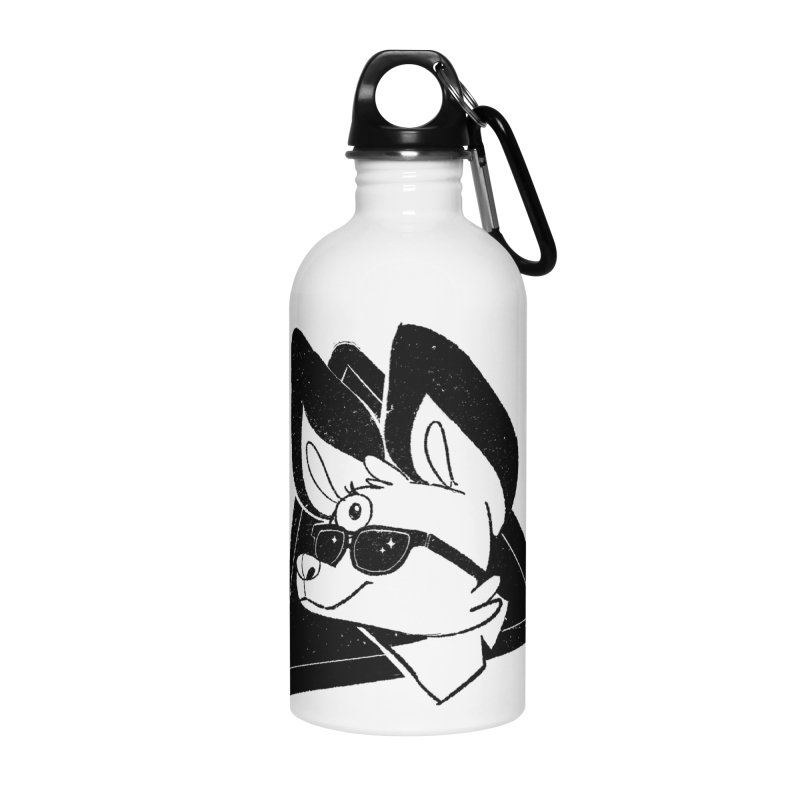 Euclid Club Accessories Water Bottle by Kyle Smeallie's Design Store