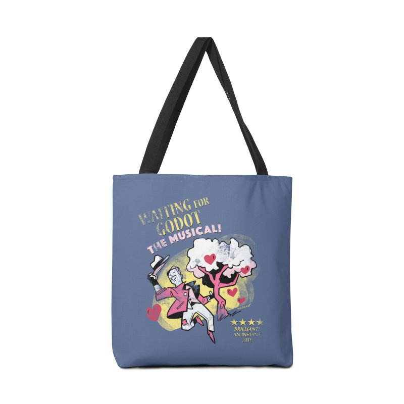 Waiting For Godot Accessories Tote Bag Bag by Kyle Smeallie's Design Store