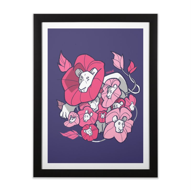 Bouquet Home Framed Fine Art Print by Kyle Smeallie's Design Store
