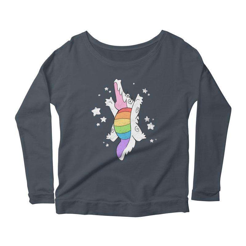 Super Gator Pride Women's Scoop Neck Longsleeve T-Shirt by Kyle Smeallie's Design Store