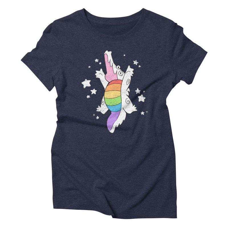 Super Gator Pride Women's Triblend T-Shirt by Kyle Smeallie's Design Store