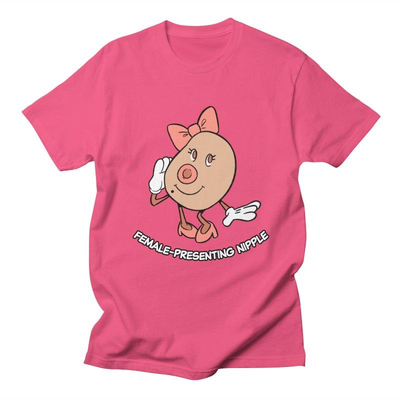 Female-Presenting Nipple Women's Regular Unisex T-Shirt by Kyle Smeallie's Design Store