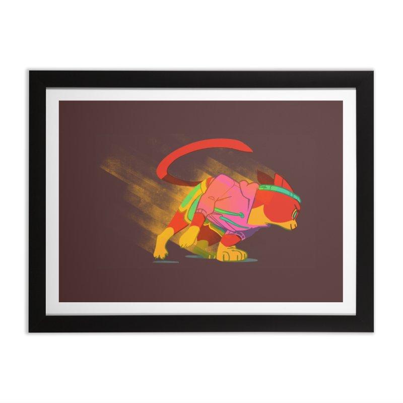Nyathlete Home Framed Fine Art Print by Kyle Smeallie's Design Store