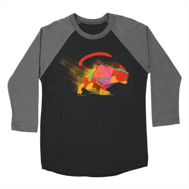 Nyathlete Men's Baseball Triblend Longsleeve T-Shirt by Kyle Smeallie's Design Store