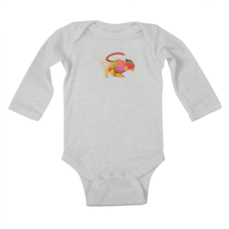 Nyathlete Kids Baby Longsleeve Bodysuit by Kyle Smeallie's Design Store