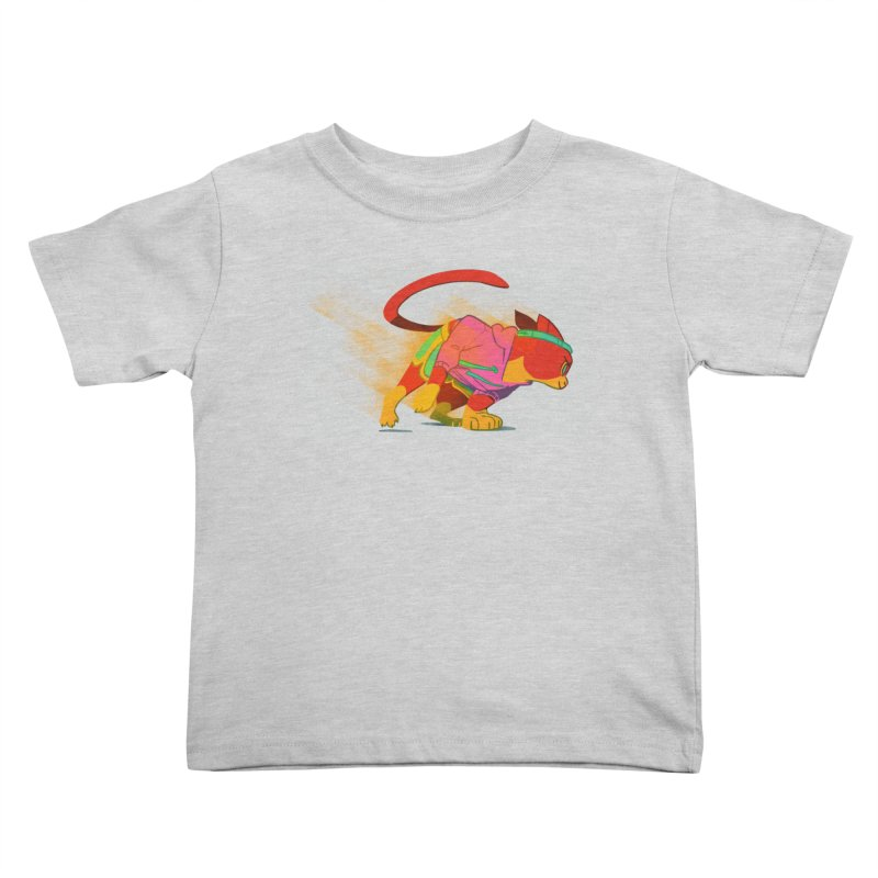 Nyathlete Kids Toddler T-Shirt by Kyle Smeallie's Design Store
