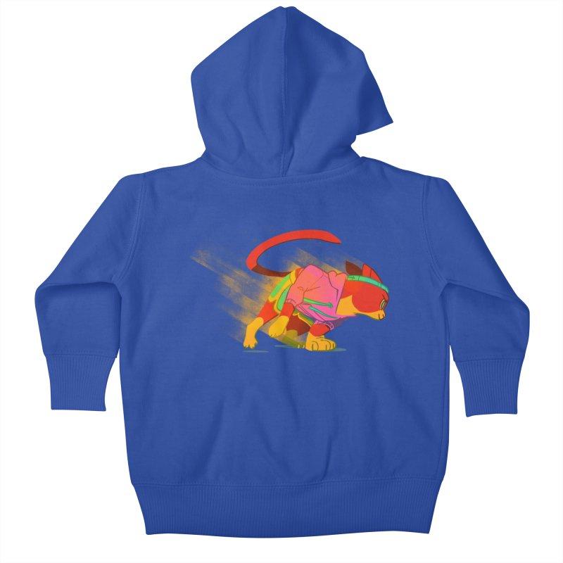 Nyathlete Kids Baby Zip-Up Hoody by Kyle Smeallie's Design Store