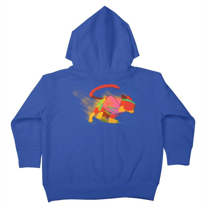 Nyathlete Kids Toddler Zip-Up Hoody by Kyle Smeallie's Design Store