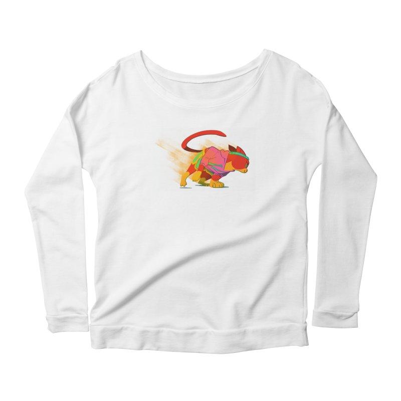 Nyathlete Women's Scoop Neck Longsleeve T-Shirt by Kyle Smeallie's Design Store