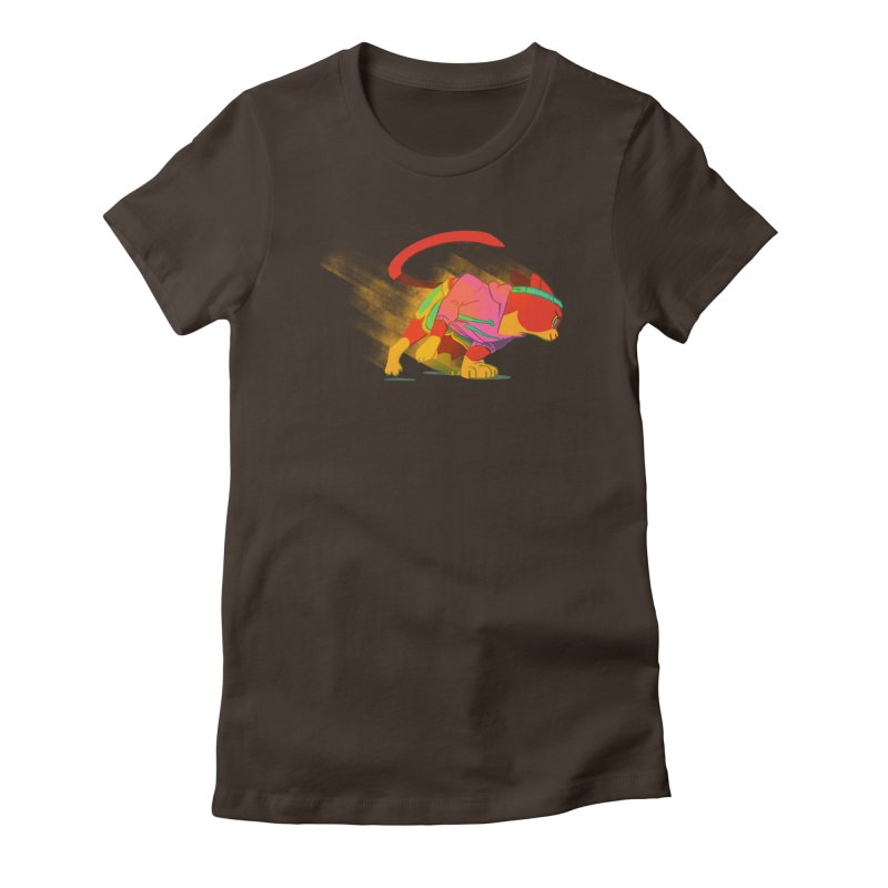Nyathlete Women's Fitted T-Shirt by Kyle Smeallie's Design Store