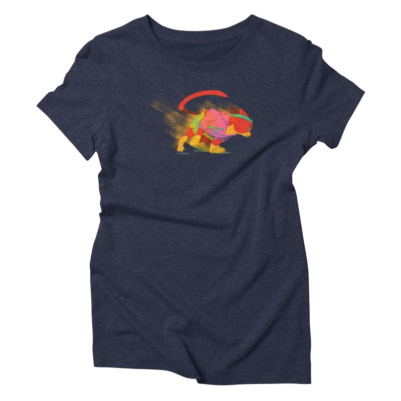 Nyathlete Women's Triblend T-Shirt by Kyle Smeallie's Design Store