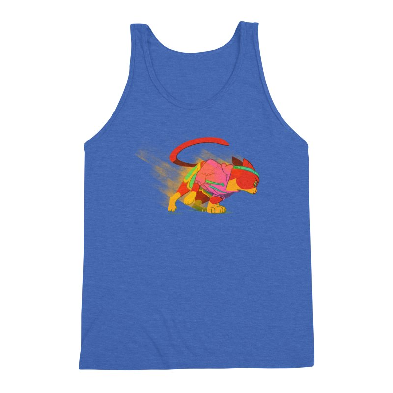 Nyathlete Men's Triblend Tank by Kyle Smeallie's Design Store