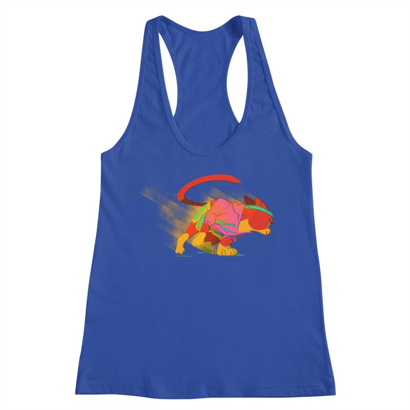 Nyathlete Women's Racerback Tank by Kyle Smeallie's Design Store