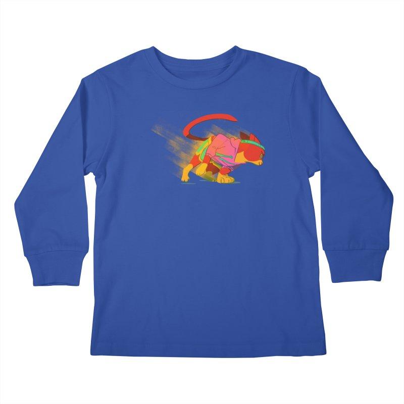Nyathlete Kids Longsleeve T-Shirt by Kyle Smeallie's Design Store