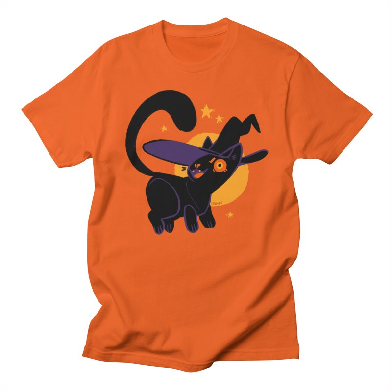 Whiskered Witch of the West Men's T-Shirt by Kyle Smeallie's Design Store