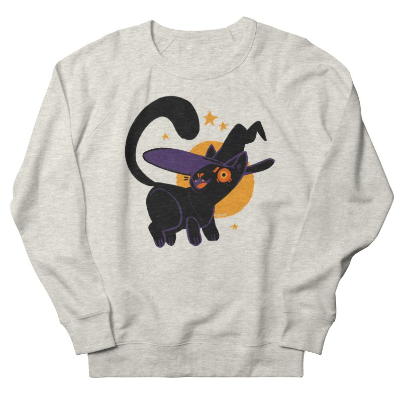 Whiskered Witch of the West Women's Sweatshirt by Kyle Smeallie's Design Store