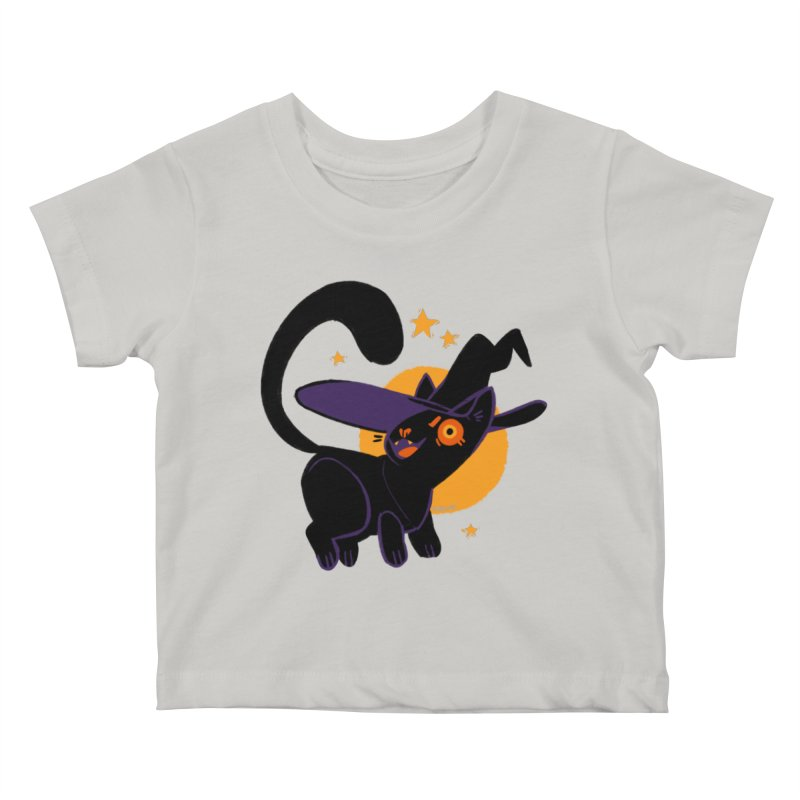 Whiskered Witch of the West Kids Baby T-Shirt by Kyle Smeallie's Design Store