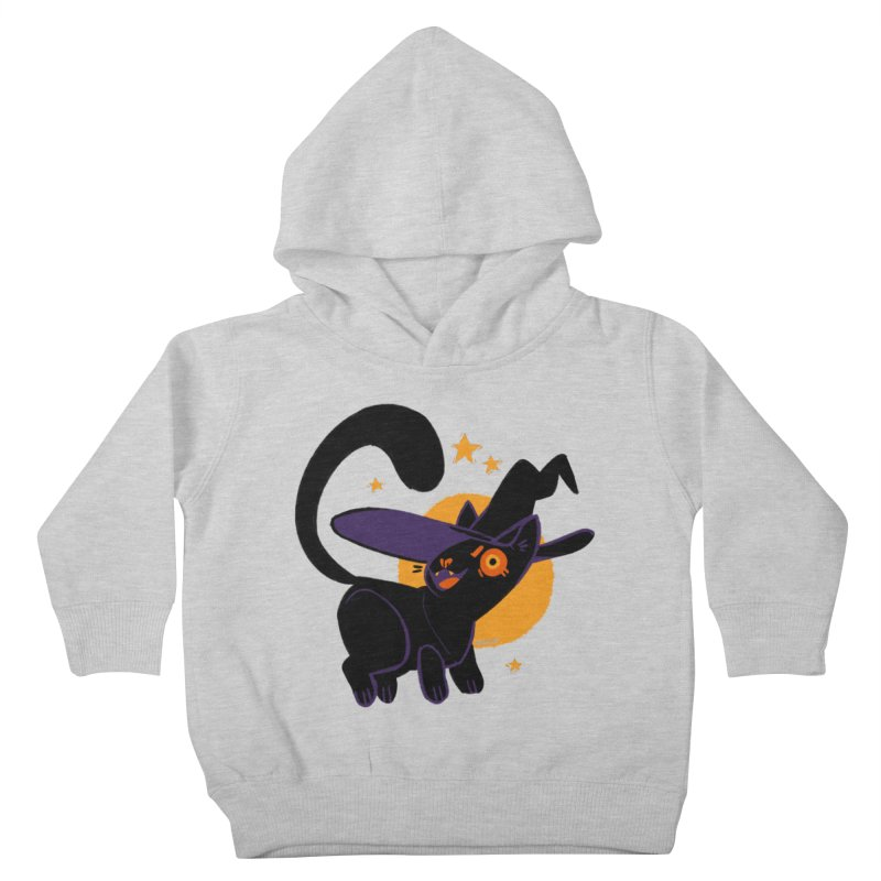 Whiskered Witch of the West Kids Toddler Pullover Hoody by Kyle Smeallie's Design Store
