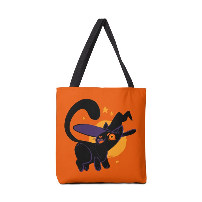 Whiskered Witch of the West Accessories Bag by Kyle Smeallie's Design Store