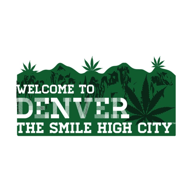 Welcome to Denver The Smile High City Classic Design Men's Pullover Hoody by Join The Circle at SmileHigh.com