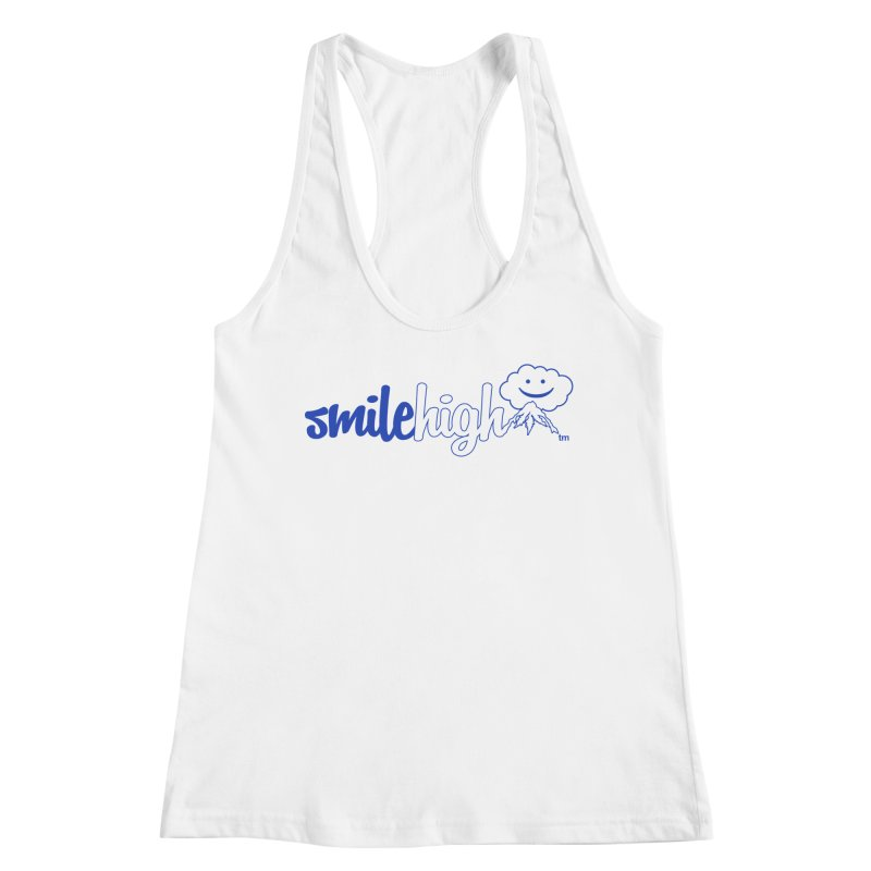 Smile High Classic Blue Line Design Women's Tank by Join The Circle at SmileHigh.com
