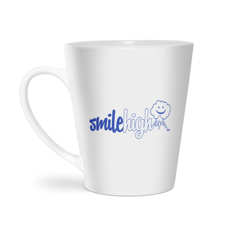 Smile High Classic Blue Line Design Accessories Mug by Join The Circle at SmileHigh.com