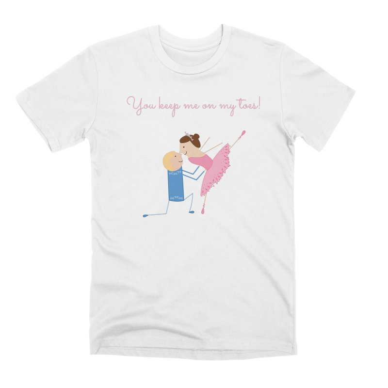 Ballerinas Men's Premium T-Shirt by {mostly} Smiling Sticks