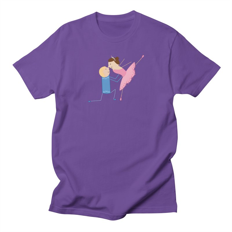 Ballerinas Women's T-Shirt by {mostly} Smiling Sticks