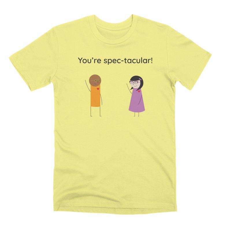 Specs Men's Premium T-Shirt by {mostly} Smiling Sticks