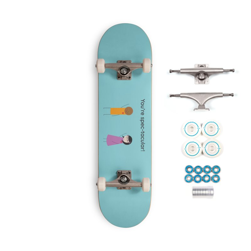 Specs Accessories Complete - Basic Skateboard by {mostly} Smiling Sticks